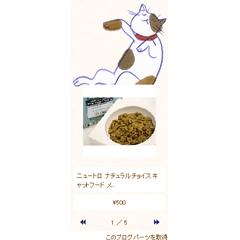 デコレーションウィジェット「うたたね猫」 ブログパーツイメージ
