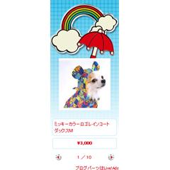 デコレーションウィジェット Rainbow ブログパーツイメージ