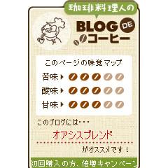 BLOG de コーヒー ブログパーツイメージ