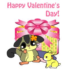 フクモモさん バレンタイン ブログパーツイメージ