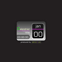デジタルカレンダー -世界仕様-イメージ