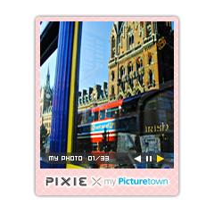 PIXIE × my Picturetown ブログパーツイメージ