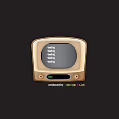 レトロテレビ型RSSリーダー ブログパーツイメージ