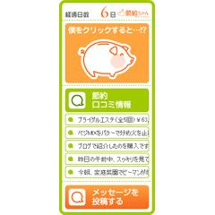 節約ちゃんブログパーツイメージ