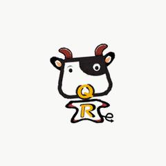QRメカのカウ君 ブログパーツイメージ
