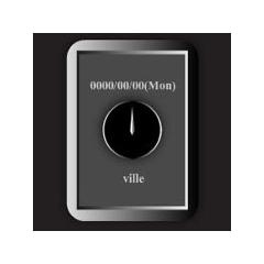 デザイン時計 -so cool- ブログパーツイメージ