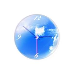 アナログ時計:空 ブログパーツイメージ