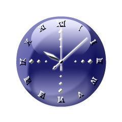 タイプライター時計【ブラックモデル】 ブログパーツイメージ