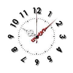 ユニーク時計【秒針フォロープログラム】 ブログパーツイメージ