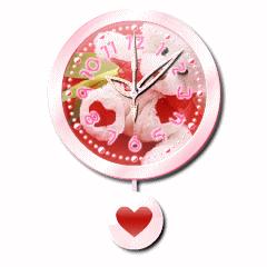 恋に効く!?恋花ネット 振り子時計ブログパーツイメージ