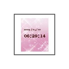 キラキラ時計ver.1 ブログパーツイメージ