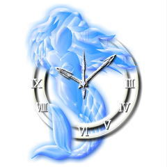 ブローチ型時計【マーメイド】 ブログパーツイメージ