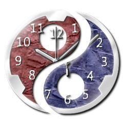 ユニーク時計【リロードプログラム.勾玉Var】 ブログパーツイメージ