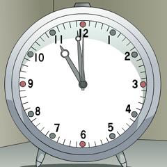 キョンの目覚まし時計 ブログパーツイメージ