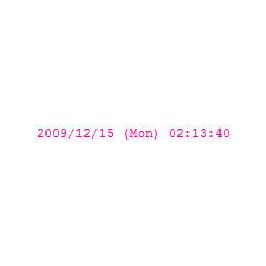 シンプルサクサク時計 ブログパーツイメージ