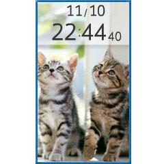 仔猫時計 ブログパーツイメージ
