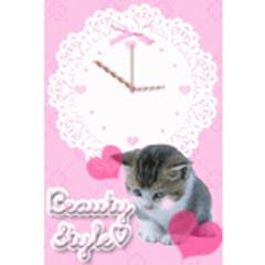子猫のほっこり時計 ブログパーツイメージ