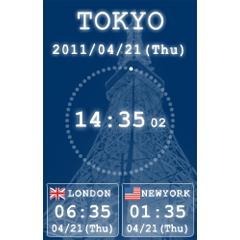 FX市場の世界時計 ブログパーツイメージ