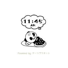 俺パン・時計 ブログパーツイメージ