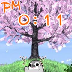 ぺそぎん・桜踊り2 ブログパーツイメージ