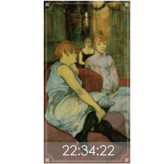 世界の絵画時計 ブログパーツイメージ