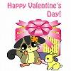フクモモさん バレンタイン ブログパーツ サムネイル