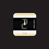 デザイン時計 - stylish - シャンパン・ゴールドサムネイル