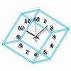 キュービック時計【ダブルブルー】 ブログパーツ サムネイル