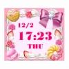デジタル時計 for Girls ブログパーツ サムネイル