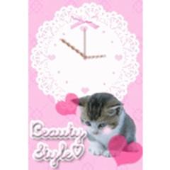 子猫のほっこり時計 ブログパーツ サムネイル